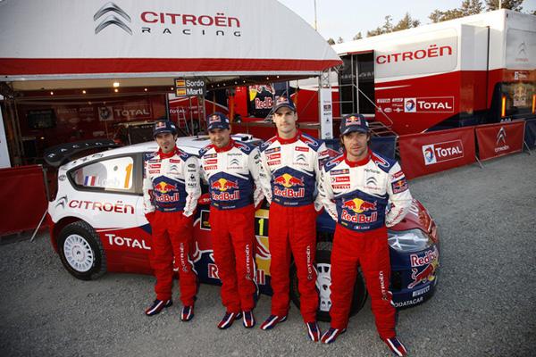"""El equipo Citroën luce nuevos """"colores de guerra"""" desde este Rally de Chipre"""