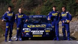 Sainz y McRae le dieron a Subaru sus mejores años
