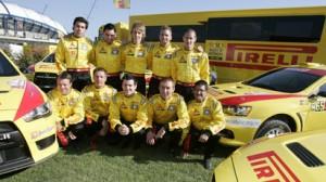 Foto de familia del Pirelli Star Driver