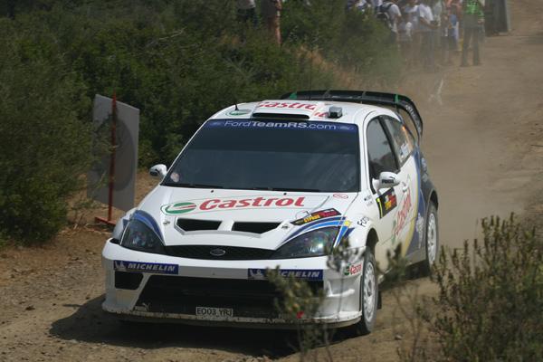 Markko Märtin fue piloto de Ford años atrás