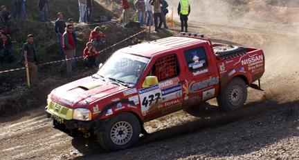 Rafael Lesmes en el Dakar 2007. (Foto Pep Cifre)