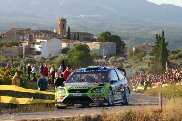 Ford con Miko Hirvonen y Jari-Matti Latvala intentarán cazar a los imbatibles Citroën C4 WRC