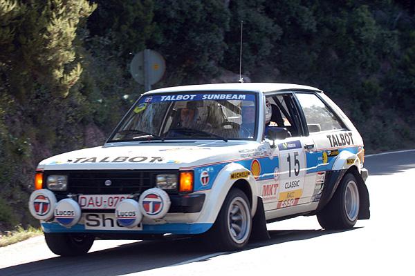 El Talbot Sumbeam todo un icono del mundial de rallys