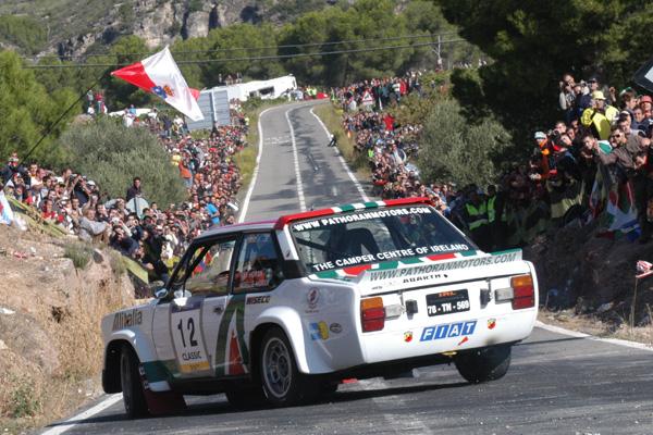 En el Rally RACC volveremos a ver coches con pedigrí como este Seat 131 Abarth, vehículos llenos de historia
