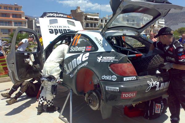 Problemas presupostarios obligan a Petter Solberg a descartar el Rally de Australia de sus planes