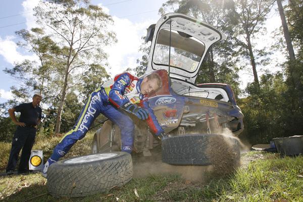 A Mikko Hirvonen no le gustó ganar gracias a una decisión de los comisarios, hubiera preferido vencer en las pistas