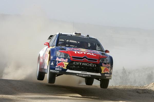 Loeb fue el más perjudicado del equipo Citroën, no obstante sigue vivo en la lucha por el título