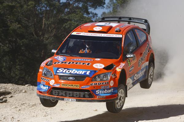 Henning Solberg fue el mejor clasificado del equipo Stobart