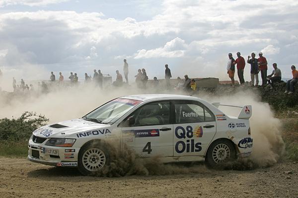 El piloto de Q8 Oils está muy crecido esta temporada y esta situado en la tercera posición del campeonato