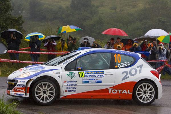 Ojeda participó con el Peugeot 207 S2000 en la pasada edición