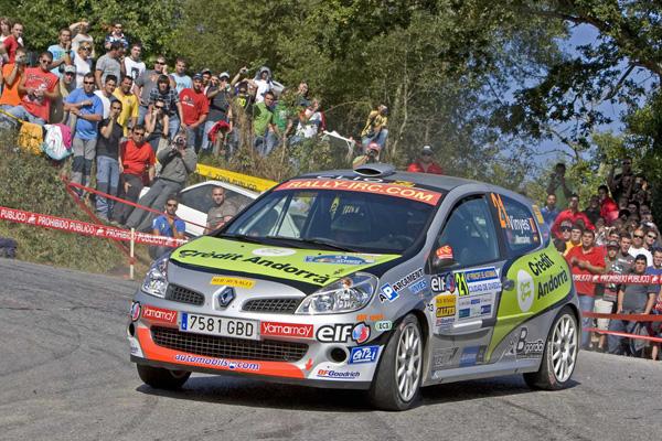 El andorrano domina con mano firme la clasificación de la Clio Cup R3