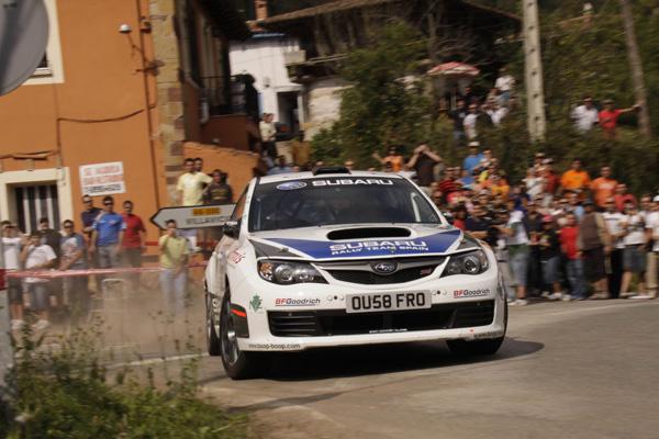 Subaru de la mano de Enrique García Ojeda espera lograr su primer título en el Campeonato de España de Rallys de Asfalto