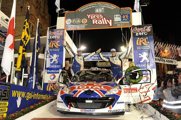 El británico se ha coronado campeón del IRC a falta del Rally of Scotland