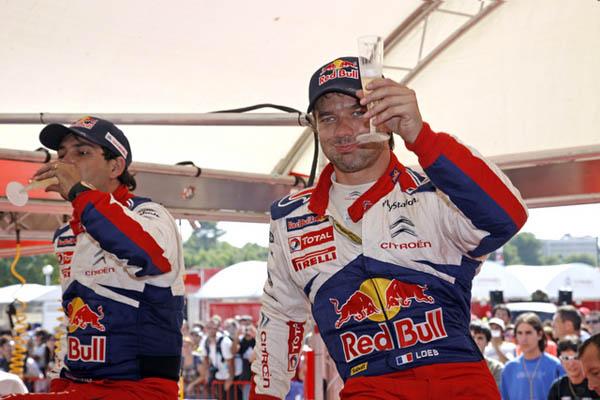 Como debe de ser el alsaciano agradeció a todos los miembros del equipo y sobre todo a Dani Sordo el esfuerzo hecho en esta carrera