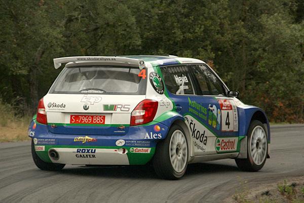 Gran actuación de Alberto Hevia, a pesar de sufrir a final de rallye, logró subir al segundo peldaño del podio catalán