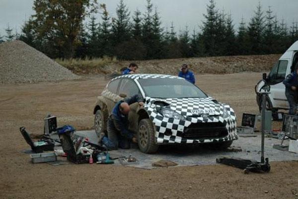 """M-Sport estrenará su Ford Fiesta S-2000 como cohe """"0"""" en esta dura prueba"""