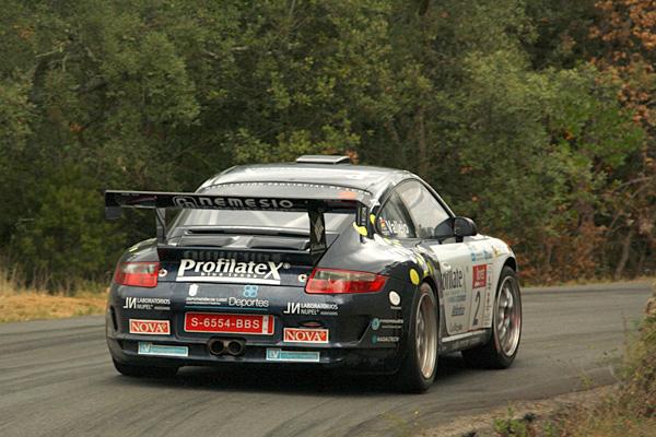 Sergio Vallejo firmó un cuarto puesto que le otorga el título de Campeón de España de Rallyes de Asfalto 2009