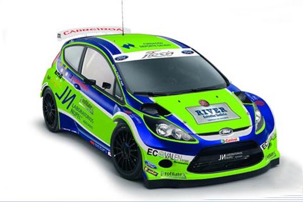 El Ford Fiesta ha sido el vehículo escogido por el equipo gallego para sus diferentes programas deportivos de la próxima temporada