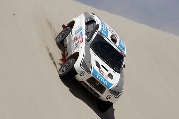 El portugués realizó una gran actuación en la tercera etapa logrando acabar en el sexto lugar de la general