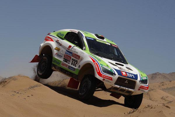 Esta ha sido la mejor etapa en lo que va de rally para el equipo portugués