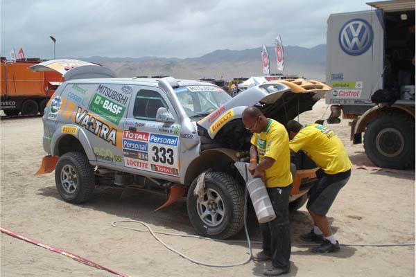 Fueron muchos los que se interesaron por el sistema de combustible que empleaba el equipo Valtra
