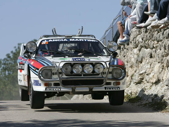 Durante estos tres días de carrera podremos ver preciosidades como este Lancia 037