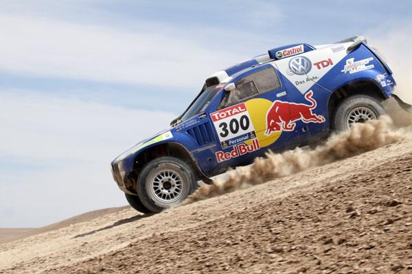 El desierto de Atacama fue uno de los escenarios del Dakar 2009 y 2101