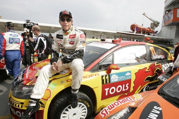 A pesar de competir en un equipo privado, Solberg está satisfecho con el segundo puesto que ocupa en la provisional del campeonato
