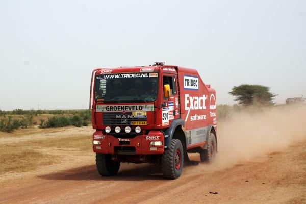 El MAN de Stacey en la última especial del Dakar 2007 (Foto: Pep Cifre)