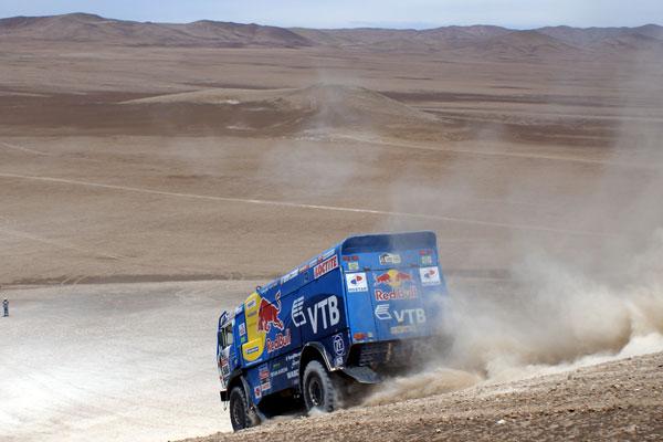 Kamaz tendrá siete camiones en liza