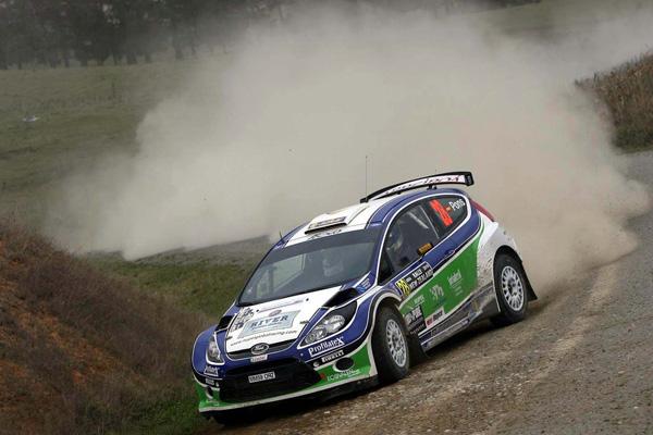 Xevi Pons y Alex Haro en el pasado rally de Nueva Zelanda