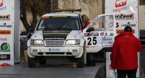 El equipo Sólyom en la salida del ROC