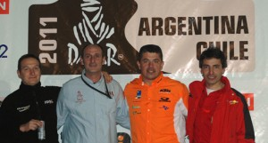 Jordi, Pedro, Rafa y Xavi ya están listos para el Dakar