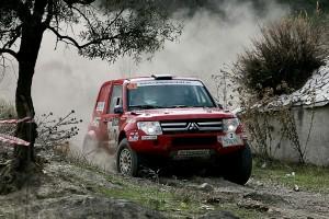 Salvador Segura se ha adaptado rápido al Mitsubishi - © Fotosport Marín