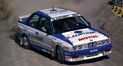 Quien no recuerda las maravillas que hacía Pep Bassas al volante del BMW M3 con los colores de Blaupu