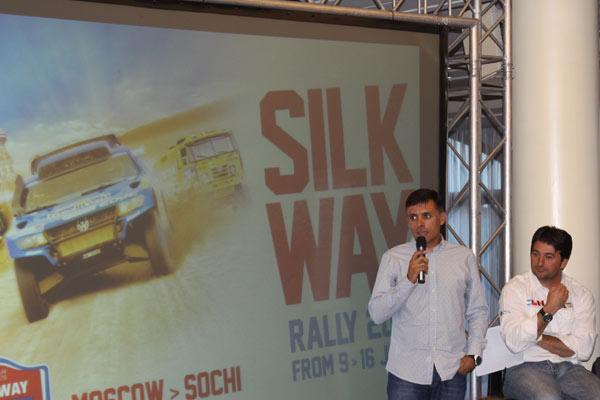 Lucas Cruz explica el Silk Way desde su punto de vista
