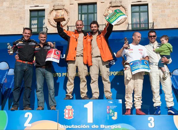 1º Reyes-Roch / 2º Plaza-Perez  / 3º Jaton-Blanco
