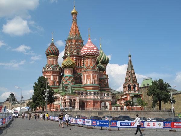 El parque cerrado se ubicará en la mítica plaza moscovita