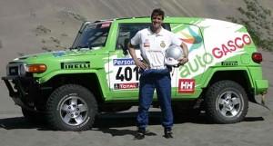 Cristóbal Vidaurre en una foto de la edición 2012