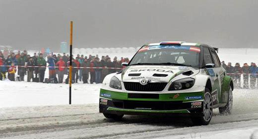 Jan Kopecký gana el Jänner Rally a Bouffier por la mínima