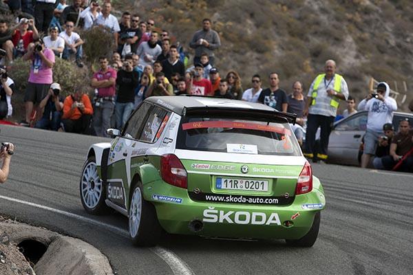 Rallye de Canarias 2012 15 MARZO DE 2012 SHAKEDOWN