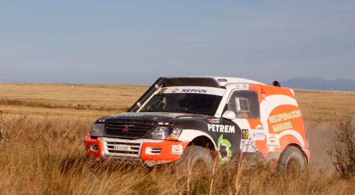 La Alcarria escenario de una carrera muy exigente para los Mitsubishi