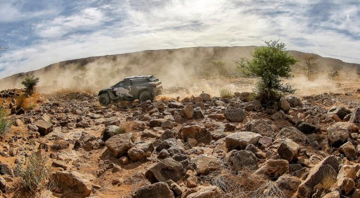 Segunda victoria de etapa de Carlos Sainz en el Rallye de Marruecos