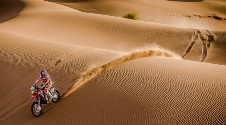Victoria de Paulo Gonçalves y doblete del Team HRC en la tercera etapa del rally de Marruecos