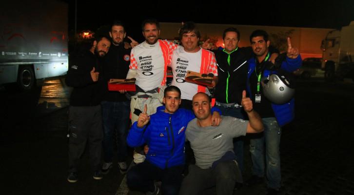 El equipo Jatón Racing consiguió ayer el título mundial en Portugal