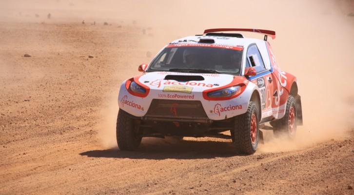 Etapa sin sobresaltos para los coches de Jaton Racing en el Rally de Marruecos