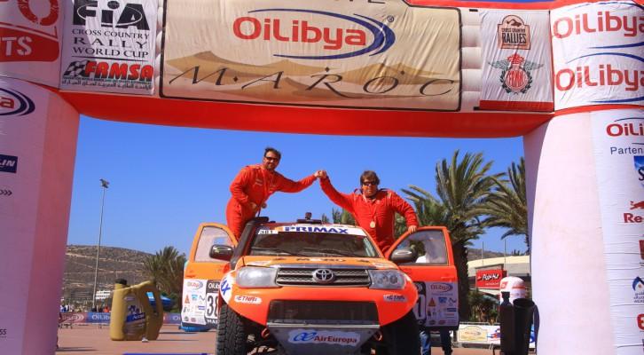 Objetivo cumplido en el Rally de Marruecos para Jaton Racing