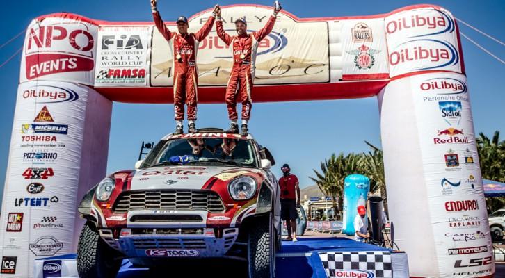 Nasser Al Attiyah se proclama campeón del mundo en Marruecos