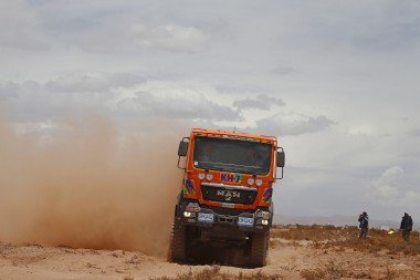 523 JUVANTENY JORDI CRIADO JOSE LUIS (spa) MAN action during the Dakar 2016 Argentina,  Bolivia, Etape 6 - Stage 6, Uyuni - Uyuni,  from  January 8, 2016 - Photo Frederic Le Floc'h / DPPI