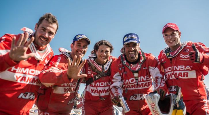 Pleno de Himoinsa con todos sus pilotos en meta y Farrés como mejor español